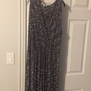 Dresses & Skirts - Black and white Maxi sundress bought at Sams